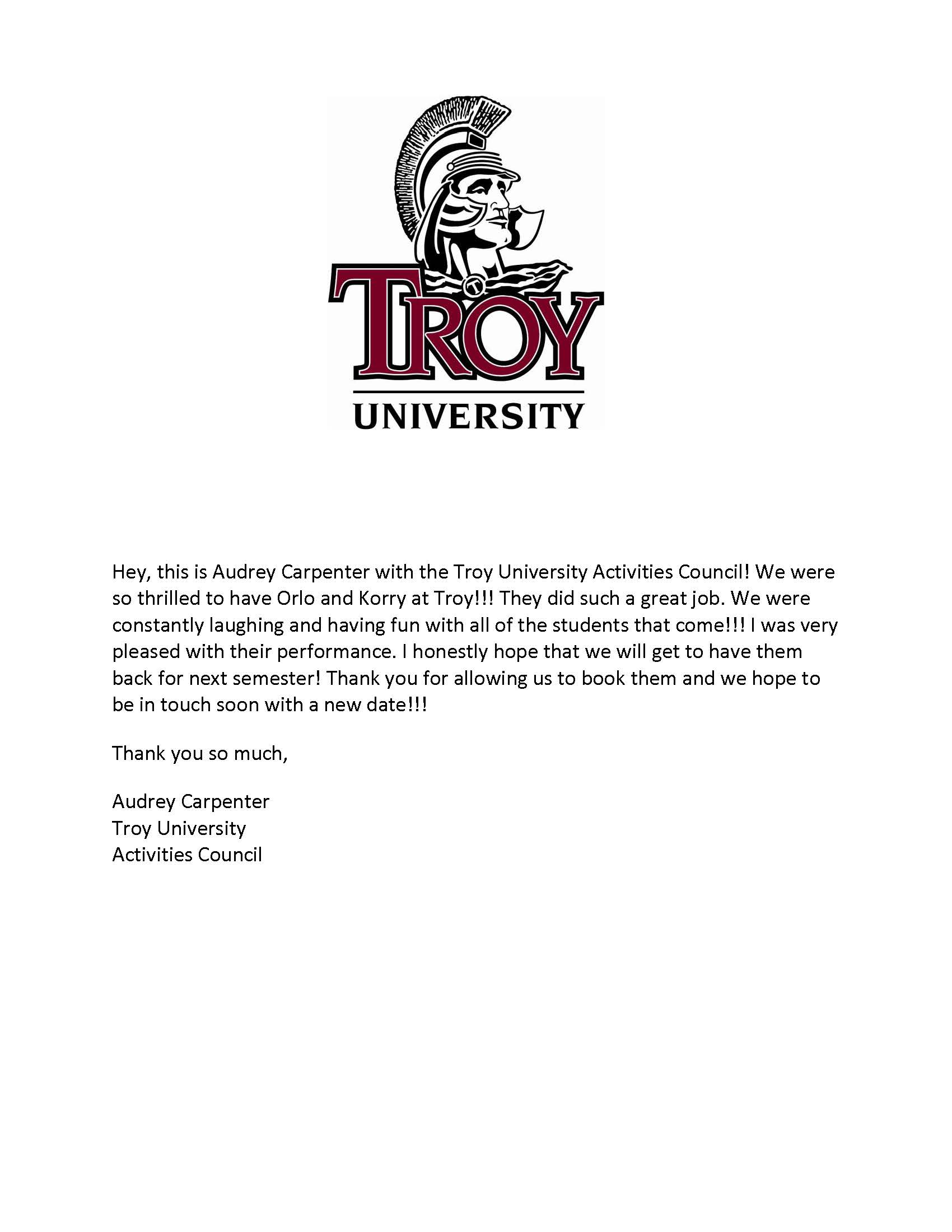 Game Show - 4.24.17 - Troy University